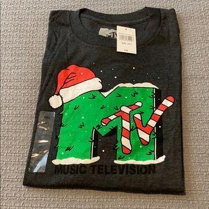 *NEW* MTV Men's Christmas T-Shirt 3XLT